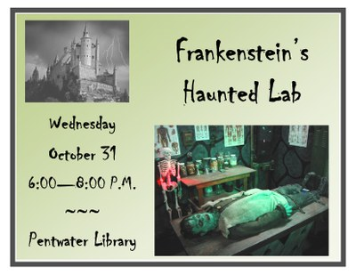 Frankenstein's Haunted Lab