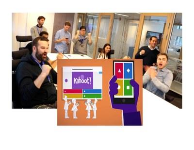 Kahoot! A Fun and Fast Trivia Game for People with Smartphones and iPads - For Adults
