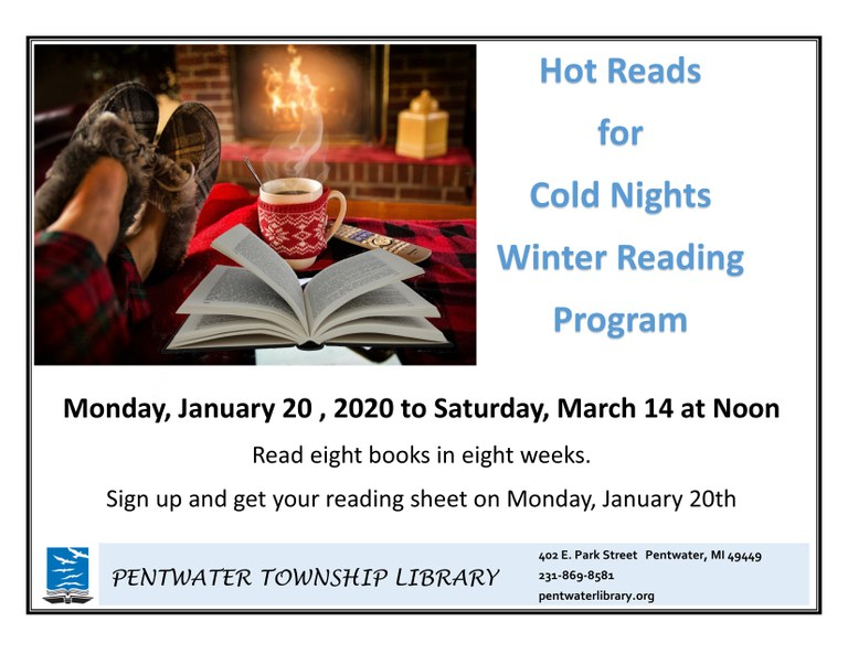 Hot Reads for Cold Nights Winter Reading Program